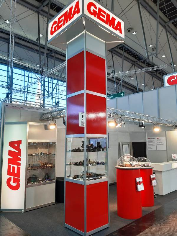 Hannover-Messe-Stand 2019